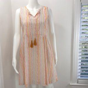 NWT Mata Traders XS Multi colored fair trade dress